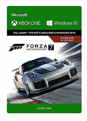 Forza Motorsport 7 Standard Edition Xbox One Download Code + FREE FAST DELIVERY