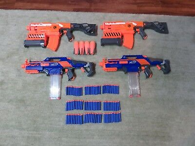 Nerf Gun Lot, Pre-owned, Tested, Great Condition