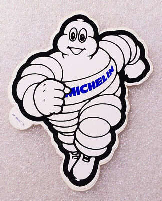 RARE Vintage Sticker ✱ MICHELIN ~ TYRES ~ TIRES ✱ Old Decal Advertising 90´s