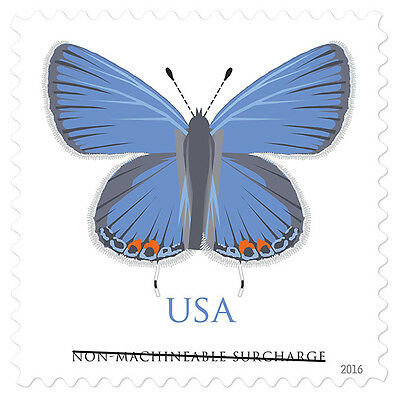 Scott #5136 Eastern Tailed-Blue Butterfly - NM Surcharge Single  - 2016 Mint NH