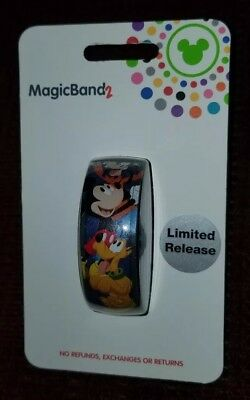 NEW Disney Parks 2019 Limited Release Mickey & Company Magic Band 2 LINKABLE