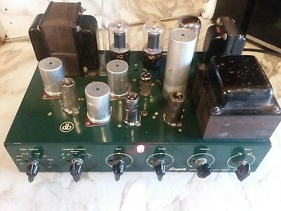 DAVID BOGEN DB-20 HIGH FIDELITY TUBE AMPLIFIER >> just fully serviced working