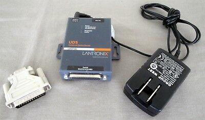 Lantronix UDS1100 Serial to Ethernet Adapter / External Device Server