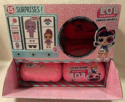 LOL Surprise Dolls Under Wraps Eye Spy full box case Wave 1