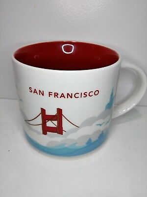 Starbucks You are Here Collectors Mug: SAN FRANCISCO 14fl Oz new without box