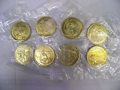 1999 SUNOCO collector coins, qty 8