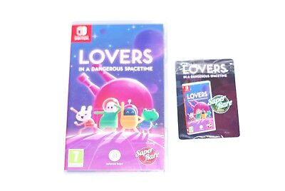 Lovers in a Dangerous Spacetime Nintendo Switch With Collector Cards