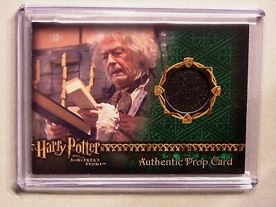 Harry Potter-SS-AUTHENTIC-Prop Card-Wand Box-#'d to 842