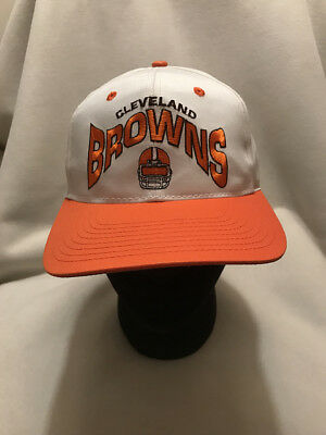VTG CLEVELAND BROWNS Annco Snapback Hat Cap -  22.00  4393bf43fa3
