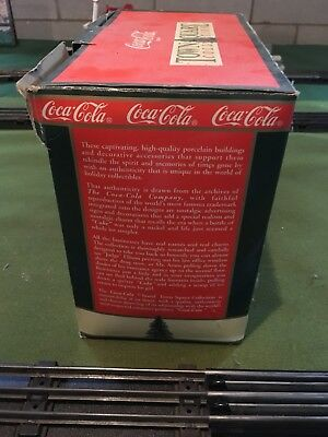Coca Cola Town Square Dick's Corner Luncheonette 1992  Lighted