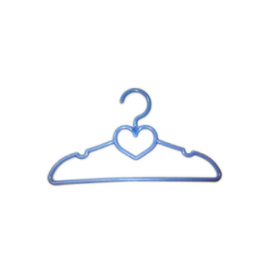 12 Blue Heart Doll Hangers Fits 18 Inch American Girl Doll Clothes