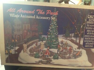 Dept 56 all around the park animated accessory set