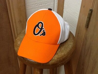 New Baltimore Orioles Bp Orange / White Hat Cap Sga Camden Yards 6/12/11 Dap