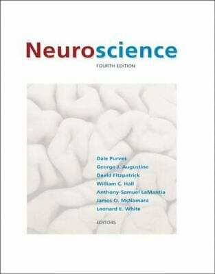 Neuroscience, Fourth Edition by Dale Purves Pre-Owned