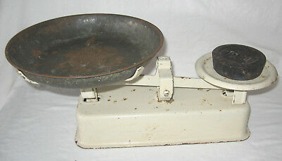 Vintage Balance Kitchen Scales With One Weight
