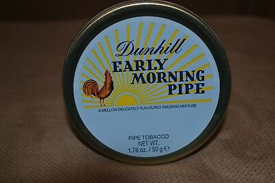 Dunhill Early Morning Pipe Collectible sealed tin.  No longer made.  Rare