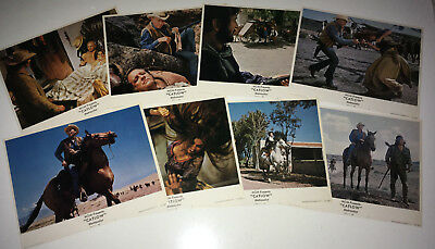 CATLOW Movie Lobby Card Posters Yul Brynner Louis Lamour Cowboy Western