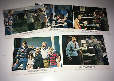 WALKING TALL FINAL CHAPTER Movie Lobby Card Posters Set Buford Pusser Action