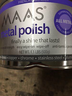 MAAS French Lavender Metal Polish 1.1 lb Free Shipping!
