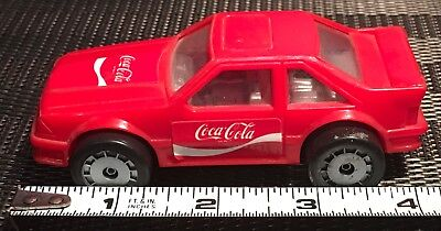 RARE 1987 FORD MUSTANG FOX BODY HATCHBACK COCA COLA Renco Toys CAR
