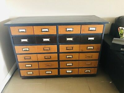 Apothacary Cabinet Science Lab 1960s