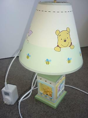 Winnie The Pooh Lamp Base and Shade - Great for Nursery!