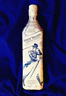 GAME OF THRONES WHITE WALKER SCOTCH by JOHNNIE WALKER - A RARE LIMITED EDITION!