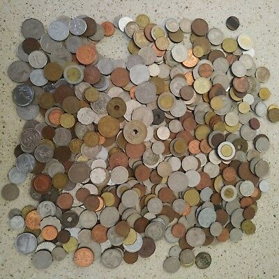 Approx. 3 kg world coins bulk coin