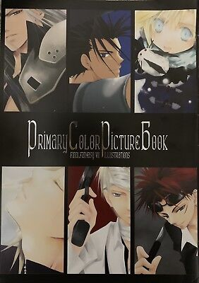 Final Fantasy 7 VII Doujinshi Color Illustrations Cloud Primary Color