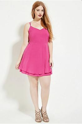 Hot Pink Strappy Dress
