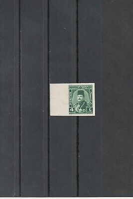 Egypt 1944 King Farouk 4m Imperforated MNH only 500 exist - Royal Collection