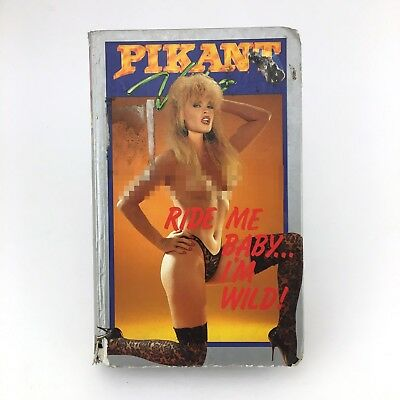 Ride Me Baby I´m Wild. Ginger Lynn Terri Hard Deluxe Clam Pikant Video Adult Vhs
