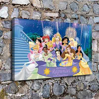 """12""""x20"""" Disney HD Canvas prints Painting Home Decor Picture Room Wall art Poster"""