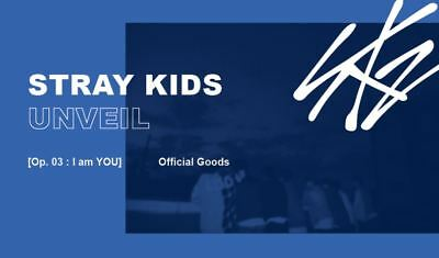 STRAY KIDS UNVEIL [Op. 03 : I am YOU] OFFICIAL GOODS HOODIE HOOD ZIP-UP SEALED