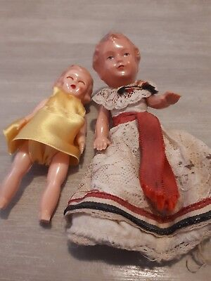 Small Celluloid Dolls