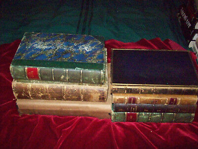 Lot 7 Antique Books 1850s-1930s HB Cornhill Sartains Parables Criminal Procedure