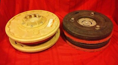 2 SETS OF FLOOR SCRUBBER DRIVER / PADS ALTO 17521c PLUS ?  Center-lok 3 SEE PICS