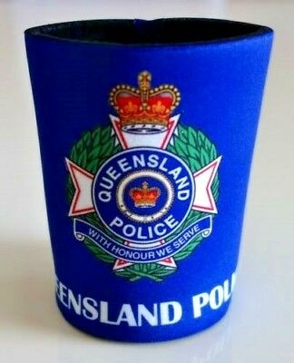 Qld Police Stubby Cooler Holder