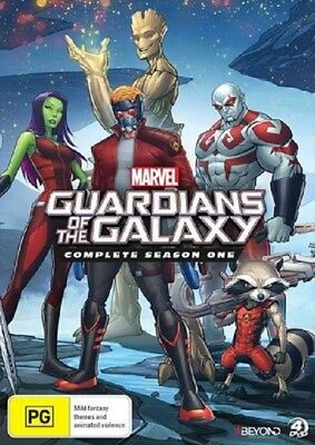 GUARDIANS OF THE GALAXY  - SEASON 1 animated - DVD - UK Compatible