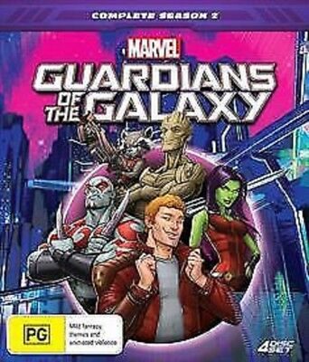 GUARDIANS OF THE GALAXY  - SEASON 2 animated - DVD - UK Compatible
