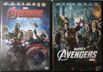 THE AVENGERS & AGE OF ULTRON - 2 Film 2 DVD
