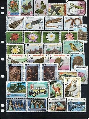 World Stamp Collection Lot W7.out Of Old Albums
