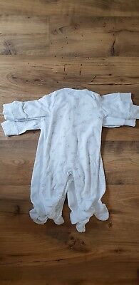 NEXT baby grows sleepsuits 3-6 (pack of 4)