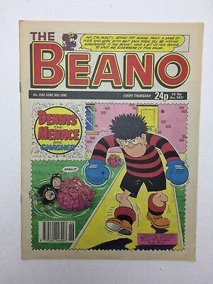 The Beano UK Paper Comic No. 2502 June 30 1990