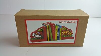 Jellycat Jungle Jungly Tales Children's Kids Bookends Retired Product Jelly Cat