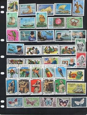 World Stamp Selection Lot W140.out Of Old Albums