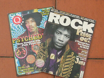 Q Magazine Psychedelic Special 2005+Classic Rock Hendrix Special 2002