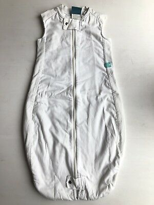 Ergopouch Ergo Pouch White Sleeping Bag Size 2-12 Months 1 Tog