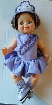 Vintage 1968 Ideal Toy Corp Baby Giggles Ice Skating Princess Outfit Can Post
