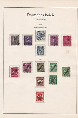 germany 1922 stamps page ref 17703